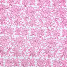 This design of our Guipure French Venice Lace is 52/53 inches wide and 100% polyester. This fabric is available in several colors and sold by the yard. This wonderful lace is perfect for apparel, bridal wear, evening gowns, dresses, and more. It is also 52/53 wide, which makes it ideal for dresses and other wide-width projects. This french lace has a beautiful rich texture and feel to it. With its unique and intricate design, its hard not to get all tangled up over this. Use this fabric to…