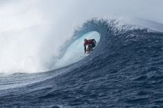 Five heats, a win for Dane Reynolds, and what should have been a 10 for this man, Kelly Slater. Photo: Joli #FijiPro