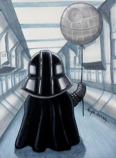 Lil Vader Dreams Big Painting by Al Molina