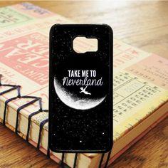Peter Pan Take Me To Neverland Art Samsung Galaxy S7 Case