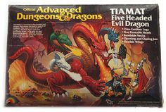 Tiamat - Advanced Dungeons & Dragons: When I was a kid a looked longingly at this toy so many times.