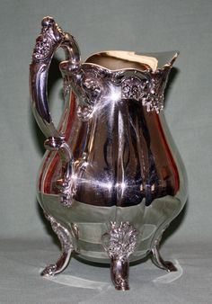 Baroque Pitcher by Wallace # 267 Outstanding Condition