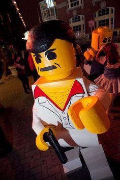 LEGO costume Mobster