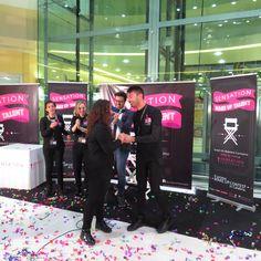The Winner is Antonio Bevilacqua! Antonio si aggiudica il titolo di Make Up Artist Ufficile di Sensation Profumerie!