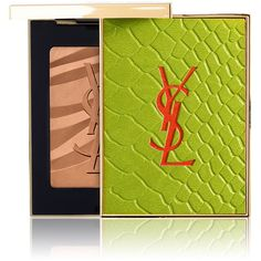 Yves Saint Laurent Beauty Women's Solar Pop Bronzing Stones Collector... ($55) ❤ liked on Polyvore featuring beauty products, makeup, cheek makeup, cheek bronzer, tan and yves saint laurent