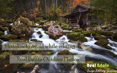 Mistakes to avoid while editing Real Estate Outdoor Photos