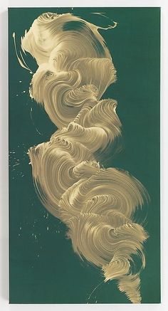 'Vespertine' by NY-based English artist James Nares via Paul Kasmin Gallery Abstract Canvas, Oil Painting On Canvas, Abstract Paintings, Painting Art, James Nares, Molduras Vintage, Paintings Famous, Oil Paintings, Art Deco Paintings