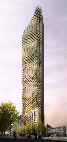 Gallery of kt landmark tower studio daniel liebeskind for Landscape architect jobs melbourne