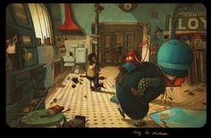 rebecca dautremer retrouve Alice