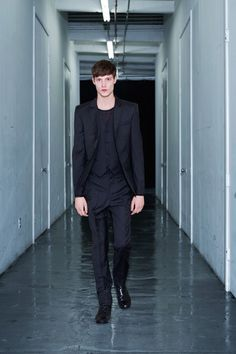 BLK DNM Spring 2014 Menswear Collection Slideshow on Style.com