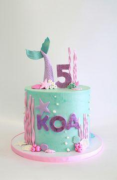 Mermaid Cake by Cake Bash Studio & Bakery, Lake Balboa CA