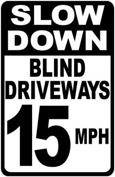 Size Options Private Drive 5 MPH Dogs At Play Sign Keep Speed Down Community