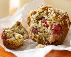 Cherry Banana Muffins with Crunchy Tops!!!