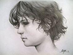 Pequeño - Retratos | Dibujando.net