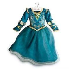 vestido princesa merida original da loja disney,p/entrega-