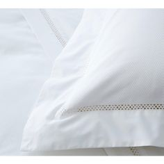 Emilie Crisp White French Bed Linen | Bed Linen