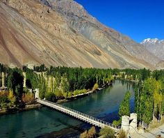 Beautiful Phandar valley in Gilgit Baltistan-Northen PAKISTAN