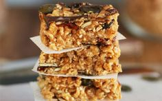 <p>They are chock full of nutrients, protein, and crunchy seeds. Plus, you can drizzle chocolate bars over the top of these bars for a truly delicious treat. </p>