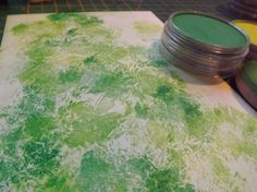 Pan Pastel Technique...make a Christmas card ... plus how-to use for other projects.