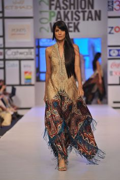 Shehla Chatoor http://www.facebook.com/people/Shehla-Chatoor/566192386 at Pakistan Fashion Week, April, 2012