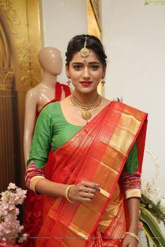 Check Out Hot Hyderabadi Model, Telugu Film Actress Shalu Chourasiya in Designer Dress at Trisha Boutique, Hyderabad Saree Wedding, Wedding Bride, Saree Blouse, Sari, Actress Pics, Traditional Wedding, Cute Girls, Designer Dresses, Beautiful Women