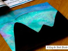 How to Paint the Northern Lights | A day in first grade | Bloglovin'