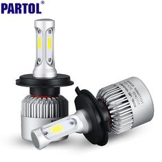 H4 H7 H13 H11 H1 9005 9006 COB LED Headlight 72W 8000LM All In One Car LED Headlights Bulb Head Lamp Fog Light Pure White 6500K -- Offer can be found by clicking the VISIT button