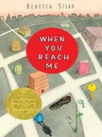 Just recommended When You Reach Me by Rebecca Stead--to an adult patron! He was looking for books that were as good as The Giver, and this is one of my favorites. (SHA)