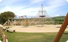 West Bay Play Area, great fun for adults and children!
