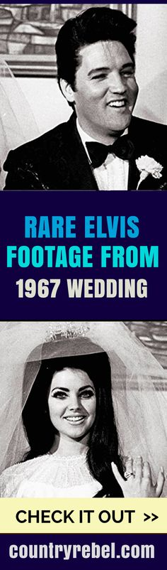 Rare Footage from Elvis' 1967 Wedding