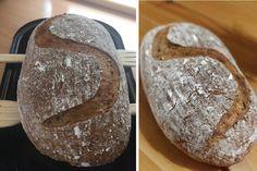 Bezprácny kváskový chlieb (fotorecept) - obrázok 5 Bread Recipes, Yummy Food, Basket, Delicious Food, Bakery Recipes