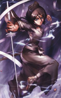 rukia kuchiki my favorite character in bleach besides Byakuya...