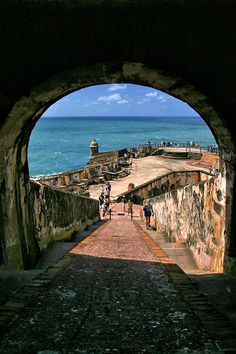Castillo San Felipe del Morro, Viejo San Juan A National Park. Puerto Rico