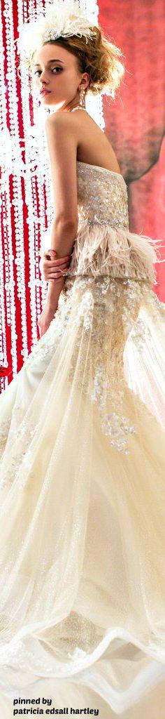 Fantasy Gowns, Fairytale Dress, Designer Wedding Gowns, Girls Dresses, Dresses 2014, Bride Dresses, Gowns Of Elegance, Feminine Dress, Colored Wedding Dresses
