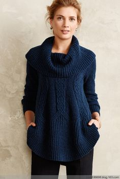 657feb7bb0118e Cabled Boucle Pullover by Angel of the North. Magia Retzi · Knitwear
