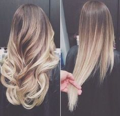 Ombre <3 Looks pretty good straight, too! @Katie Hrubec Hrubec Bosse