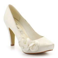 Escarpins ivoire pour Femme : Escarpins Carla Selvone - 44,99€
