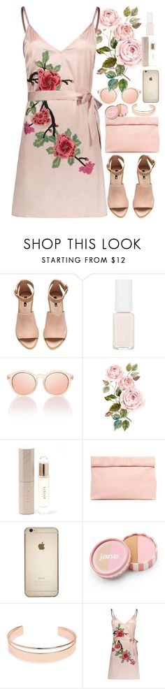 """#100"" by lenabitkina on Polyvore featuring мода, H&M, Le Specs, Burberry, Marie Turnor, jane и Leith"