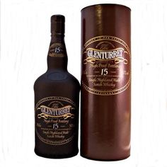 Glenturret Single Malt Whisky 15 year old High Proof 50% 70cl A very rare old High Proof distillery bottling of Glenturret Single Malt Scotch Whisky aged for 15 years. Distilled in 1977 and bottled in 1993