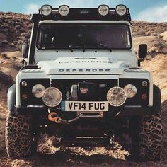 Land Rover Defender 110 Td4 Sw adventure prepared.