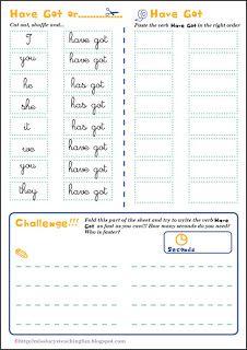 have got for kids exercises worksheets