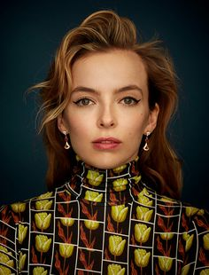 Killing Eve actress Jodie Comer on the cover of Wonderland Winter. Killing Eve premieres April Jodie Comer has become a household name with her role as assassin Villanelle in BBC drama, Killing Eve. English Actresses, British Actresses, Actress Pics, Best Actress, Pretty People, Beautiful People, Gorgeous Guys, The White Princess, Jodie Comer