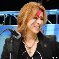 Yoshiki...Looking Fabulous at Fifty!