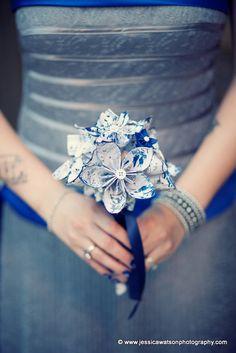 Bridal Sheet Music Wedding Bouquet 8 inch 15 by DanasPaperFlowers, $54.00