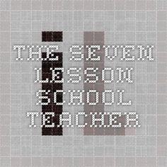 The Seven Lesson School Teacher