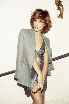 Micaela Ramazzotti looking lovely in #EmporioArmani