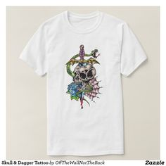 Skull & Dagger Tattoo T-Shirt