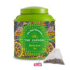 Morish Green Tea Pyramid