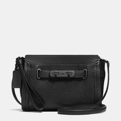 COACH Coach Swagger Wristlet In Pebble Leather #sscollective #affiliate