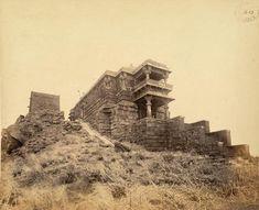 146 years oldphotoof Ambaji temple on mount Girnar Junagadh